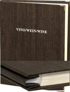 Weinmappe bis30 Seiten.