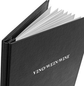 weinkarten-ambiente-schwarz. Bis 24 Seiten.
